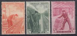 BELGIË - OBP - 1942 - TR 260/62 - MH* - Spoorwegen