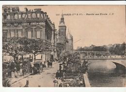 Paris ( 1er Et 4 ème) Marché Aux Fleurs - France