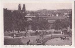 54. NANCY. La Cure D'Air Saint-Antoine. Vue Prise De La Place Thiers. 163 - Nancy