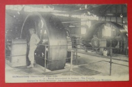 64 Urdos Tunnel Du Somport 1911 Intérieur Usine Réceptrice Animée éditeur Mrassou-Castéra Bedous-Urdos Dos Scanné N°71 - France