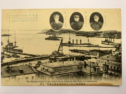Vladivostok Владивосток 16 Allied Naval Fleet - Russia