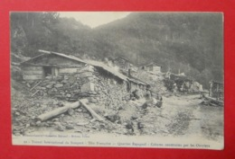 64 Urdos Tunnel Du Somport 1910 Cahutes Construites/ouvriers Animée éditeur Mrassou-Castéra Bedous-Urdos Dos Scanné N°62 - Andere Gemeenten