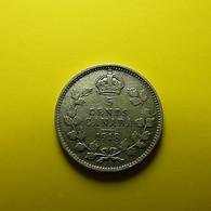 Canada 5 Cents 1918 Silver - Canada