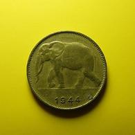 Belgian Congo 1 Franc 1944 - 1934-1945: Leopold III