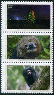 Brazil 2019 Fauna Monkey Sloth Termite 3v MNH - Scimmie