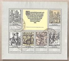 DDR - Serie Completa Usata In Blocco Michel 2013/8 - The 450th Anniversary Of The German Peasant War - 1975 *G - [6] República Democrática