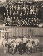 2 CARTE PHOTO:SAINT AMOUR (39) PRÊTRES GARÇONS COLONIE SAINT JOSEPH,JEUNES ESCRIMEURS (ESCRIME) DE SAINT JOSEPH - Francia