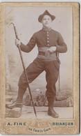 Photo CDV Militaire 159 Regiment Infanterie Alpine  A. Fine BRIANCON - Guerre, Militaire