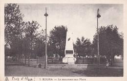 ALGERIE Bouira Le Monument Aux Morts - Autres Villes