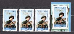 FRANCE LOT DE 4 TIMBRES DE 2010 N 4504 NEUF ** LUXE - France