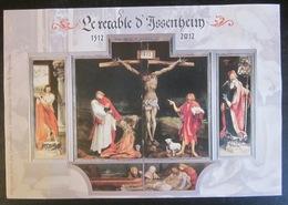 France - 2012 - YT F4675 - Feuillet Retable Issenheim - Christ - Sheetlets