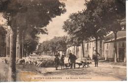 51.VIT4- WITRY-les-REIMS , La Route Nationale - France