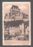 Quebec - Château Frontenac - Publicité Chocolat Martougin Anvers - Québec - Château Frontenac
