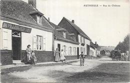 AUTHIEULE : RUE DU CHATEAU - France