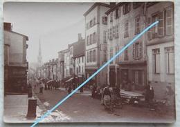 Photo VILLEFRANCHE SUR SAONE La Grand'Rue Début 20ème S - Lieux