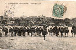 Fougères -  Vue  Générale  Prise  Du  Champ  De  Manoeuvres. - Fougeres