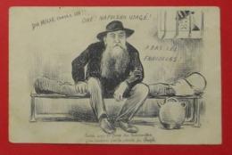 11 Narbonne 1907 Caricature Manifestations Viticoles Ferroul En Prison  Dos Scanné Sans éditeur - Narbonne