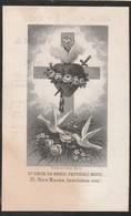 Bongers Joanna Echtgenote Theeven ° Swalmen 1825, + Horn 1907 - Devotieprenten