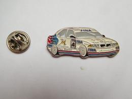 Superbe Pin's En Relief , Auto BMW , Rallye , Carburant Fina , Teo Martin Motorsport , TM Automobiles - BMW