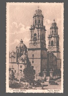 Morelia - Cathedral / Mexique - La Cathédrale - Publicity Chocolat Martougin Anvers - Reclame - Mexique