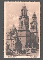 Morelia - Cathedral / Mexique - La Cathédrale - Publicity Chocolat Martougin Anvers - Reclame - Mexico