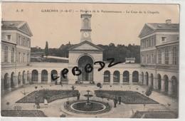 CPA - 92 - GARCHES - Hosice De La Reconnaissance - La Cour De La Chapelle - Animation - Pas Courante - Garches