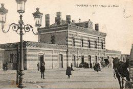 Fougères -    Gare  De  L' Ouest. - Fougeres
