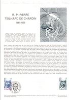 DOCUMENT FDC 1981 TEILHARD DE CHARDIN - Documenten Van De Post