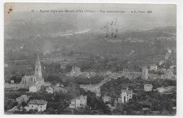 SAINT CYR AU MONT D' OR - N° 38 - VUE PANORAMIQUE - CPA VOYAGEE - France