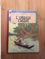 Tintin L'oreille Cassée - 1953 (B8) - Feuillage Bleu BE! - Boeken, Tijdschriften, Stripverhalen