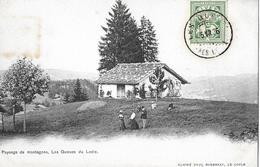 LOCLE → Payssage De Montagnes, Les Queues Du Locle Anno 1906 - NE Neuenburg