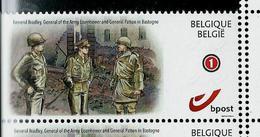 Duostamps Neuf 75 Ans  Bataille Des Ardennes Bastogne - Autres