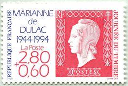 N° Yvert & Tellier 2863 - Timbre De France ( * * ) - (Année 1994) - Journée Du Timbre - Cinquantenaire Marianne Dulac - France