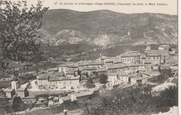 CPA 84  AUREL CURIEUX ET PITTORESQUE VILLAGE LE MONT VENTOUX - Francia