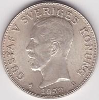 SWEDEN. 2 Kronor 1939 - Suède