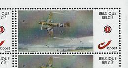 Duostamps Neuf 75 Ans  Bataille Des Ardennes Bastogne - Avion - Parachutistes - Autres
