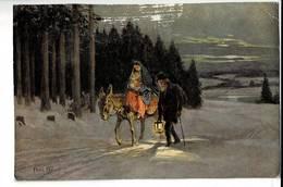 SCHK 543 - WALTER CLASSEN PAUL HEY - AUF DER FLUCHT - LA FUITE EN EGYPTE - Paintings