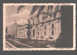 Santiago - Hôtel Des Monnaies - Publicity Chocolat Martougin Anvers - Reclame - Chili
