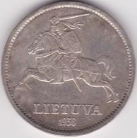 LITHUANIA. 10 Litu 1936 - Lituanie