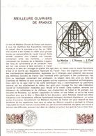 DOCUMENT FDC 1977 MEILLEURS OUVRIERS DE FRANCE - Documenten Van De Post