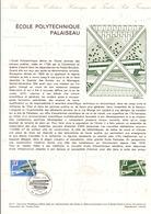 DOCUMENT FDC 1977 ECOLE POLYTECHNIQUE PALAISEAU - Documenten Van De Post