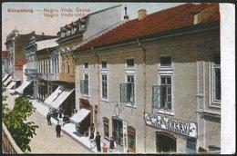 Romania - Bukowina: Kimpolung (Campulung Moldovenesc / Moldvahosszúmezö), Negru Voda Gasse 1917 - Romania