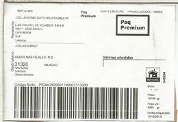 SANTANDER CANTABRIA ETIQUETA LABEL PAQ PREMIUM - 1931-Hoy: 2ª República - ... Juan Carlos I