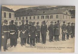 CATASTROPHE Du CUIRASSÉ LIBERTÉ - Les Funérailles - Le Commandant JAURÈS Et Son État-Major - Gros Plan - Animée - Katastrophen