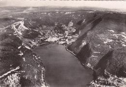 01  Ain  -  Nantua  -  Vue  Aérienne  Du  Lac  -  Au  Premier  Plan:  La  Cluse  Et  Le  Port - Nantua
