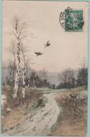 CPA: Paysage De  CHASSE En 1909.  (E3001) - Hunting