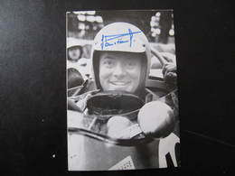 Carte Autographe - JEAN PIERRE JAUSSAUD - CHAMPION AUTOMOBILE FORMULE 1 - Autographes