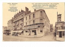 Les Sables-d'Olonne - Sur Le Remblai - Hôtel Bellevue - édit. R. Bergevin 35b + Verso - Sables D'Olonne