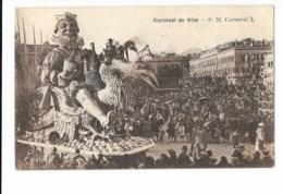 Carnaval De Nice - S.M. Carnaval L - édit. A.D.I.A.  + Verso - Carnaval