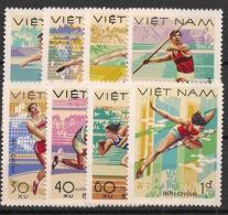 Vietnam - 1978 - N°Yv. 96 à 103 - Sports - Neuf Luxe ** / MNH / Postfrisch - Vietnam